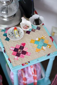 cute little granny squares.