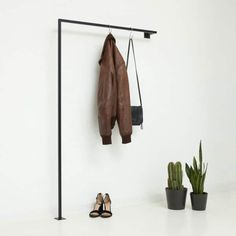 Buy wardrobe industrial design Scandinavian for narrow hallways Garderobe Design, Skandinavisch Modern, Buy Wardrobe, Halls, Ikea Home, Salon Style, Industrial Chic, Industrial Design Furniture, Room Colors