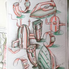 Freehand Architecture - Architectural Drawing and Design Daily Drawing, Drawing Tips, Object Drawing, Disney Characters, Fictional Characters, Architecture, Drawings, Distance, Composition