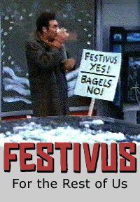 It's a Festivus miracle! #HappyFestivus #seinfeld (pic via troutsoup@flickr.com)