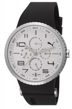 Puma PU103051003 Essence Chrono Silver Black Herrenuhr