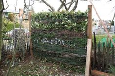 composting fence