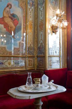 Caffe Florian-Senate Tea Salon, Venice, Italy