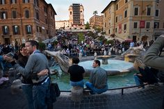 The Spanish Steps by Mark (LP), via Flickr