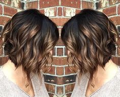 Hairstyles brunette 38 Super Cute Ways to Curl Your Bob - PoPular Haircuts for Women 2019 Ombre, Curly Bob Haircut - Beloved Brunette Bob Hairstyles for Ladies Bob Haircut Curly, Curly Bob Hairstyles, Pretty Hairstyles, Hairstyles 2018, Ladies Hairstyles, Bob Hairstyles Brunette, Everyday Hairstyles, Bouffant Hairstyles, Beehive Hairstyle