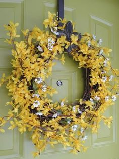 Decorating with Forsythia - Easter Decorating Ideas - Country Living