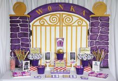 """I want this for myself...a Charlie and the Chocolate Factory themed birthday. Could I pull off an """"Amanda and the Chocolate Factory"""" by September? And should I really be eating that much candy?"""