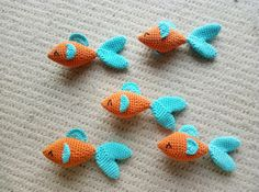 Crochet Fishes – FREE PATTERN – Mummy, Mummy!
