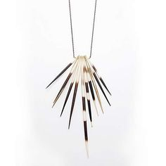 Animal-Inspired Tribal Accessories - This Porcupine Quill Jewelry is Spiky and Hot (GALLERY)