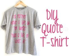 Epilepsy walk shirts! DIY