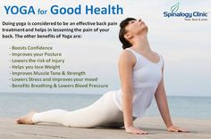 #Yoga Benefits for Good #Health #Spinalogy #SpinalogyClinic #HealthyLiving