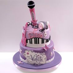 Music Themed Cakes, Music Cakes, Music Themed Parties, Sweetly Cake, Birthday Party Themes, Birthday Cake, Sleepover Party, Party Cakes, Cooking Recipes