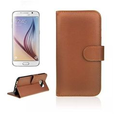 Wallet Stand Leather Case for Samsung S6 - CELLRIZON  - 1