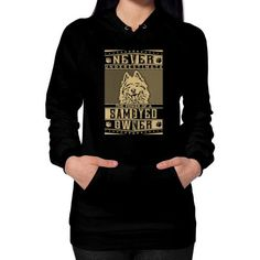 Never underestimate the power of a Samoyed Owner Hoodie (on woman)