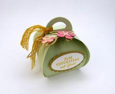 Schokolade & Süßigkeiten - Box zum Geburtstag: Geschenk Mini-Nutella - ein Designerstück von Stempelitis bei DaWanda