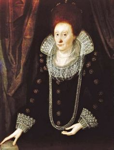 Queen Elizabeth, c.1600. Artist Unknown. City Museum, Plymouth.