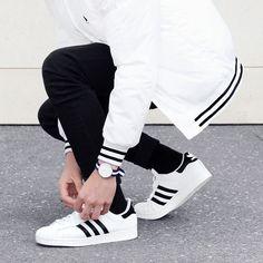 Adidas × Daniel Wellington #stripes #streetfashion #watchgame