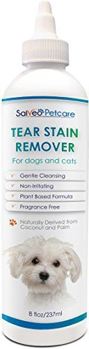 Tear Stain Remover for Dogs and Cats  Best Natural Formula for White Coats  Gently Removes Eye Residue  Prevents Stains  No Harmful Chemicals  Fragrance Free  Ideal for Maltese  Made in USA ** Check out this great product.
