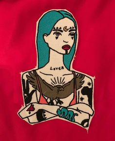 DAMNED GIRL Patch