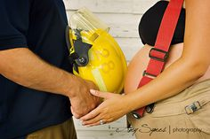 maternity & firefighter shoot