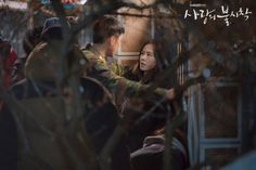 Crash Landing on You (사랑의 불시착) - Drama - Picture Gallery Jung Hyun, Kim Jung, Hyun Bin, Series Movies, Film Movie, Cute Couples Kissing, Hidden Movie, Movie Of The Week, Korean Drama Movies