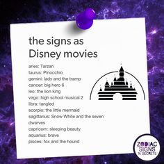 The Signs As Disney Movies - https://themindsjournal.com/signs-disney-movies/