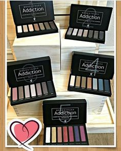 Which Moodstruck Addiction Eyeshadow Palette is your favorite!? I'm really loving Palette's 3, 4, & 5  Can't wait to see which one they threw in with my kit  #Younique #youniqueproducts #addictionpalette #obsessed  youniqueproducts.com/KaylasMakeupLounge
