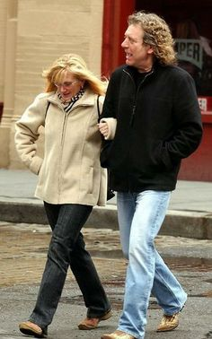 Robert Plant and his sister Allison in London