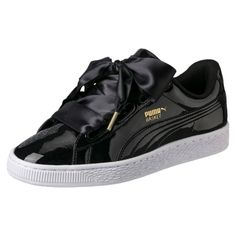 Basket Heart Patent Women s Trainers 48f749ab73a15