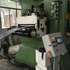 High Speed 12mm Thickness Servo Roll Feeder,NC Servo Roll Feeder,Automatic Servo Roll Feeder, Servo Roll Feeder Machine,CNC Servo Roll Feeder,The speed is 0-600 SPM. It can matched up high speed press machine.Welcome to inquiry cennia@he-machine.com.
