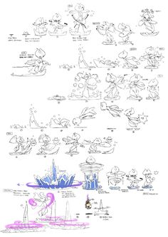 Project Chung-In on Behance Animation Storyboard, Animation Sketches, Animation Reference, Drawing Reference, Art Sketches, Water Drawing, Manga Drawing, Drawing Poses, Character Art