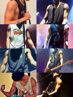 um can we talk about calums muscles?>>> HOLY ASDFGHJK!!!! JEEZ CALUM GO AHEAD AN GIVE US FANGIRLS AN HEART ATTACK!!!!!!!