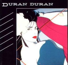 Alternate Rio album cover - Rio (Duran Duran album) - Patrick Nagel 2001
