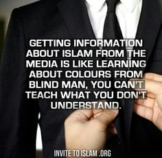 If any person have any misconception about Islam should and must read Quran. Should not judge blindly.