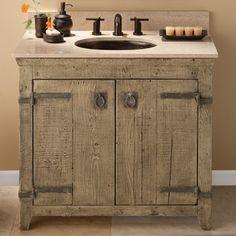 Rustic Bath Vanity - Foter