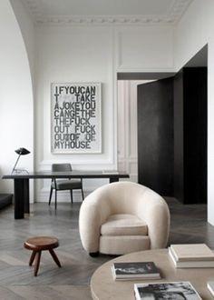 TK interior design inspiration. Joseph Dirand