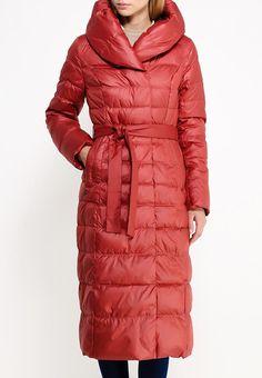 Длинная куртка Clasna на утеплителе из искусственного пуха Sustans. Верх выполнен из ветрозащитно...