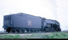 Denrock, Ill Burlington Northern, Steam Locomotive, Trains, Train