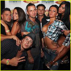 Jersey shore-love the drama of others