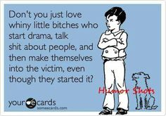 Just remember what goes on with you in your home get your popcorn and coke and enjoy your ride;-) now mess with mine it's called KARMA BITCH!!!