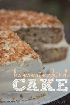 Hummingbird Cake - Have you ever tried Hummingbird Cake? It is practically a Southern Institution, and today's super-moist version is packed full of bananas, pineapple, and a little coconut, then topped off with a browned butter cream cheese frosting so delicious you might cry! A great way to use up overripe bananas, this cake is a must-try!