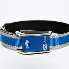 KOOLOOP Med-Big Heavy Duty Polyester PADDED Dog Collar. Medium-Large. Blue. Red. Orange. >>> Want to know more, click on the image. (This is an affiliate link and I receive a commission for the sales)