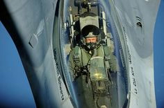 An Air Force F-16 Fighting Falcon refuels from an Air Force KC-135 Stratotanker during the Rim of the Pacific (RIMPAC) 2012 exercise.