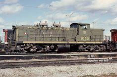 1052 Unit No: 1052 Builder: Type: Class: Location: Symington-Winnipeg, MB Date: September 1979 Photographer: Paul Smith Diesel Locomotive, Steam Locomotive, Canadian National Railway, Train Pictures, Electric Train, Paul Smith, Bridges, North America, Trains