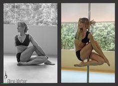 Pole Fiend - vertical yoga