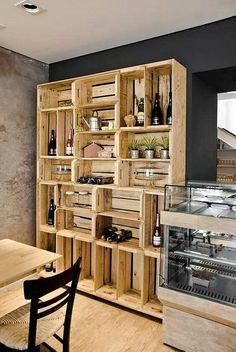 pallet fruit crates wardrobe cabinet