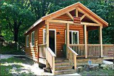 A camper cabin ideas