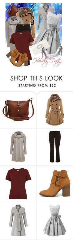 """""""Day Off The Party"""" by april-wilson-nolen ❤ liked on Polyvore featuring M&Co, Joe Browns, Frame, Whistles, Steve Madden, Miss Selfridge and Roger Vivier"""