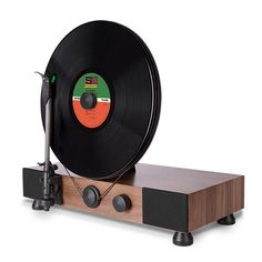 Gramovox turntable. Would love to see a version w/o built-in speakers.