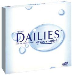 Focus Dailies 90 pack